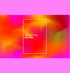 colorful geometric background trendy composition vector image