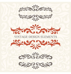 Design Elements set 6 vector image