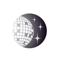 disco ball icon disco ball icon vector image