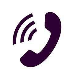 phone icon phone icon eps10 vector image