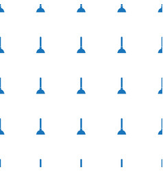 Plunger icon pattern seamless white background vector