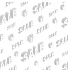 Seamless pattern on sales vector