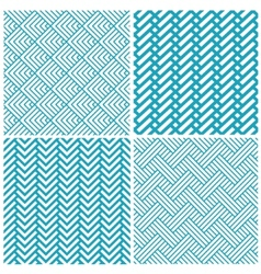 set of chevrons abstract geometric seamless vector image