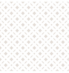 Subtle abstract seamless floral pattern vector