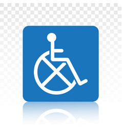Wheelchairs handicapped access signs or flat vector