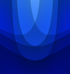 Blue background with wave vector image vector image