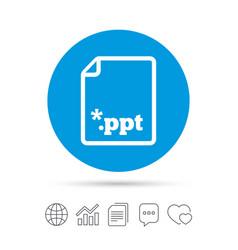 File presentation icon download ppt button vector