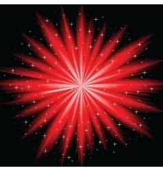 Abstract firework vector