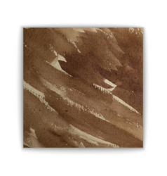 brown watercolor background vector image