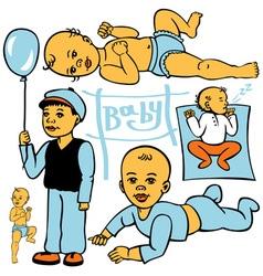Child development vector
