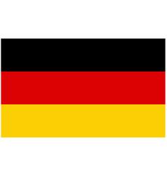 germany flag symbol icon design german flag color vector image
