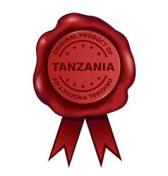 Product Of Tanzania Wax Seal vector