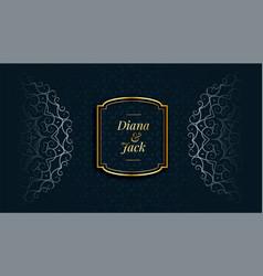Royal mandala decorative islamic style pattern vector