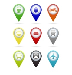 Transport pointers vector