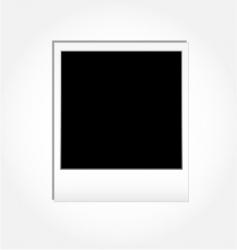 Vintage photo frame vector