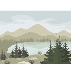 Forest2 vector image