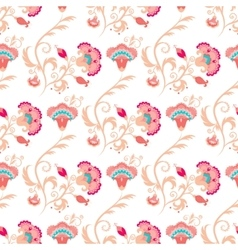 Seamless oriental style pattern vector image vector image