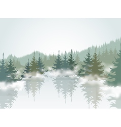Forest3 vector image vector image