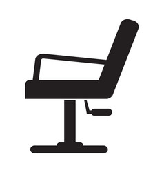 Barber chair icon design vector