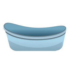 bathtub icon cartoon style vector image