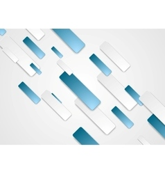 Bright corporate tech abstract background vector