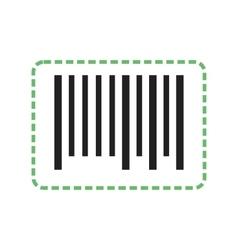 Cutting Bar Code vector