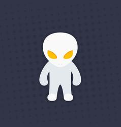 extraterrestrial alien vector image