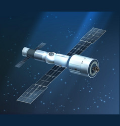 International space station vector