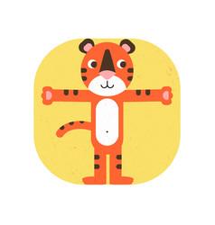 Logo tiger cub vector