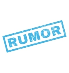 Rumor Rubber Stamp vector