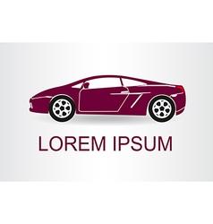 Sports car Car symbol vector