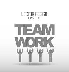teamwork concept design vector image