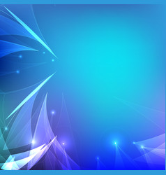 Abstract Light Wave with Blurred Background vector image vector image