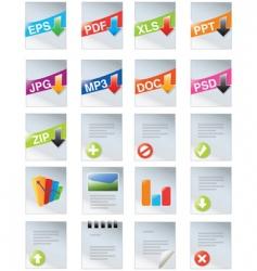 designers toolkit series vector image
