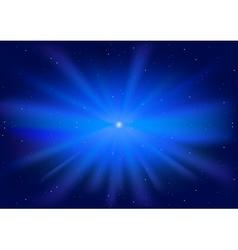 glowing star vector image vector image