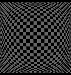 3d checked pattern vector
