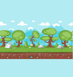 background for games and animation vector image