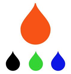 drop flat icon vector image