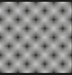 halftone seamless pattern with dotted circles vector image