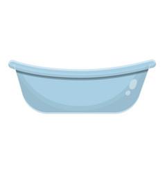 Kid bathtub icon cartoon style vector