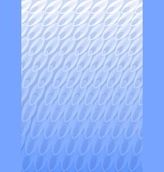 Light blue overlay background in optical art style vector