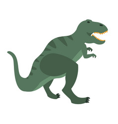 t-rex dinosaur of jurassic period prehistoric vector image