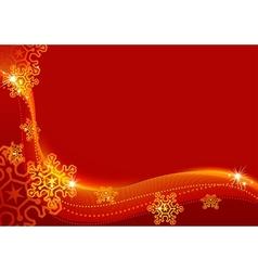 christmas greetings vector image vector image