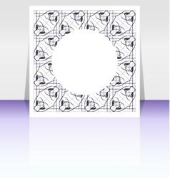 editable presentation of flyer Poster vector image vector image