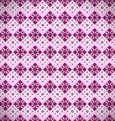 Pattern with squares vector