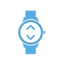 Bandwidth concept smart technology smartwatch vector