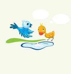 Bird n duck vector