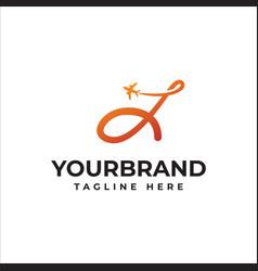 J letter logo or symbol template design vector