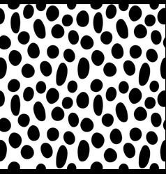 random circles seamless pattern-03 vector image