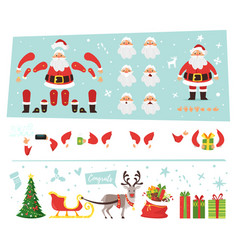 santa claus for animation vector image